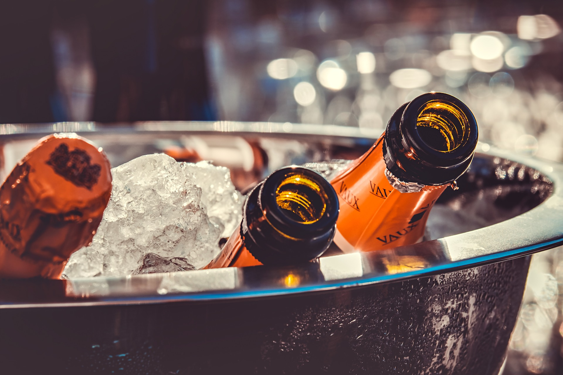 Vychlazené lahve