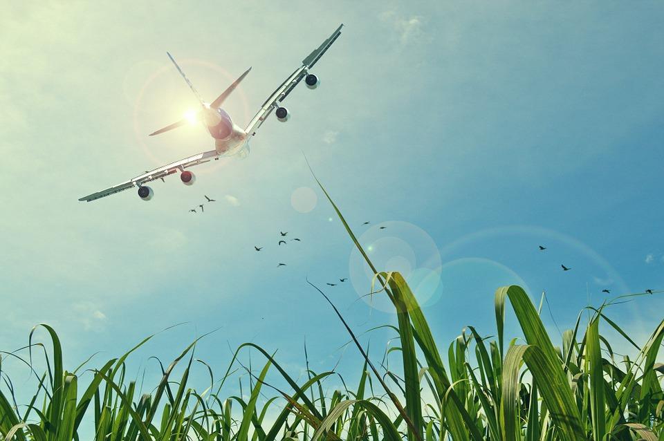 náklon letadla